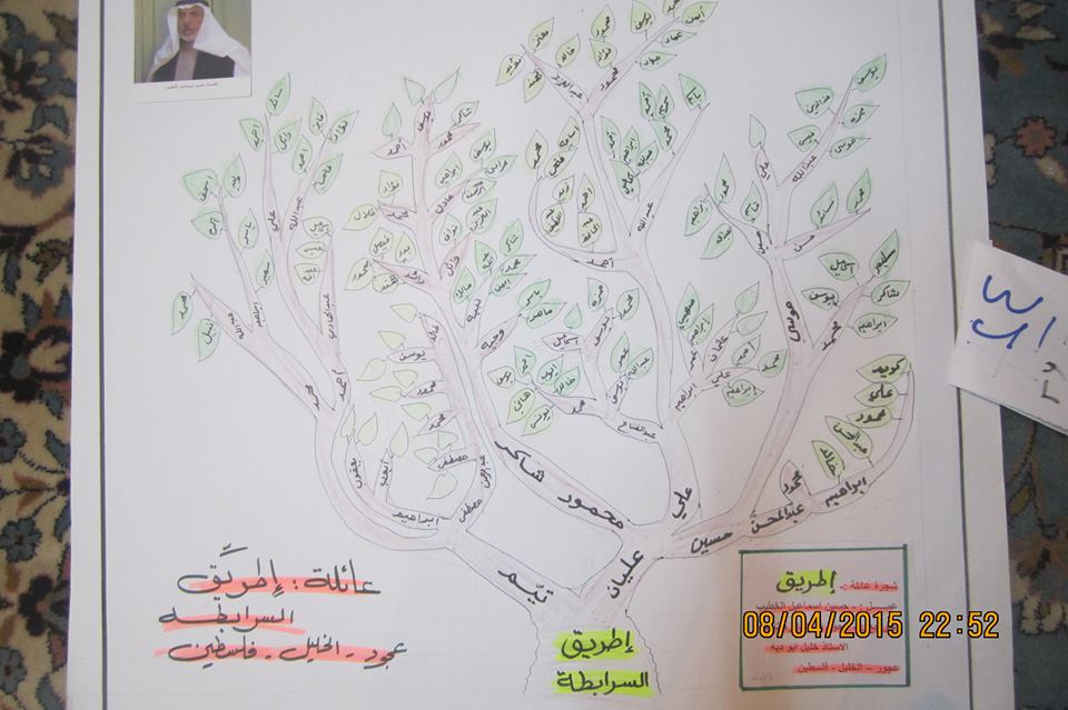 شجرة عائلة طريِّق / عجور 14285903081